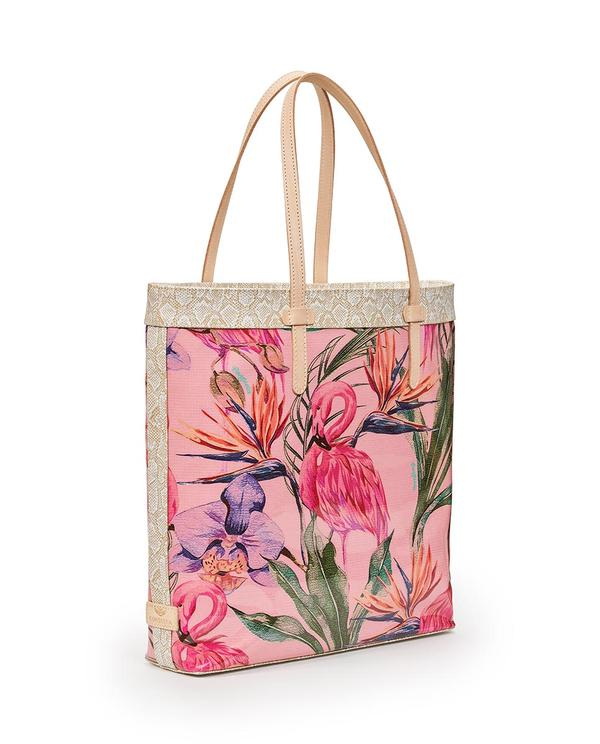 Brynn Flamingo Slim Tote by Consuela - The Tillie Rose Boutique