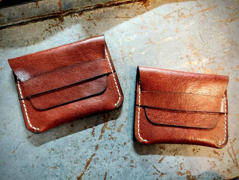Men's Leather Card Wallet - The Tillie Rose Boutique