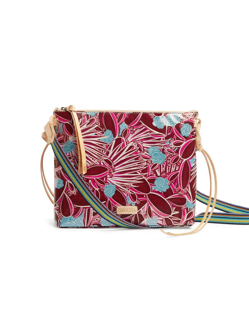 Red Downtown Crossbody by Consuela