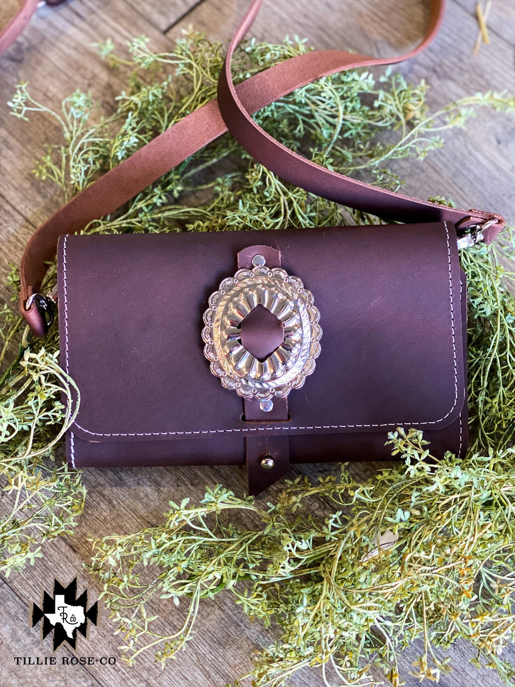 Concho Wallet or Crossbody - The Tillie Rose Boutique
