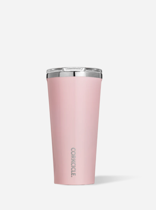 Gloss Rose Quartz 16oz Tumbler by Corkcicle