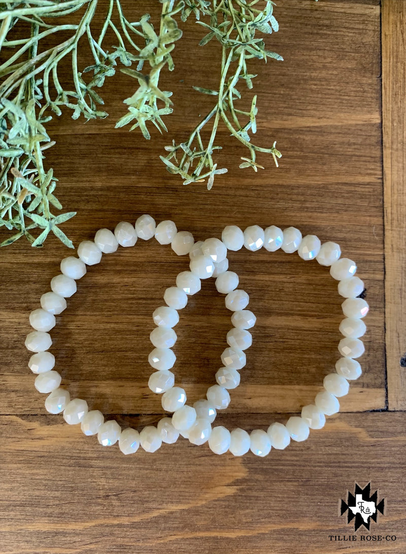 Pearl Beaded Bracelet - The Tillie Rose Boutique