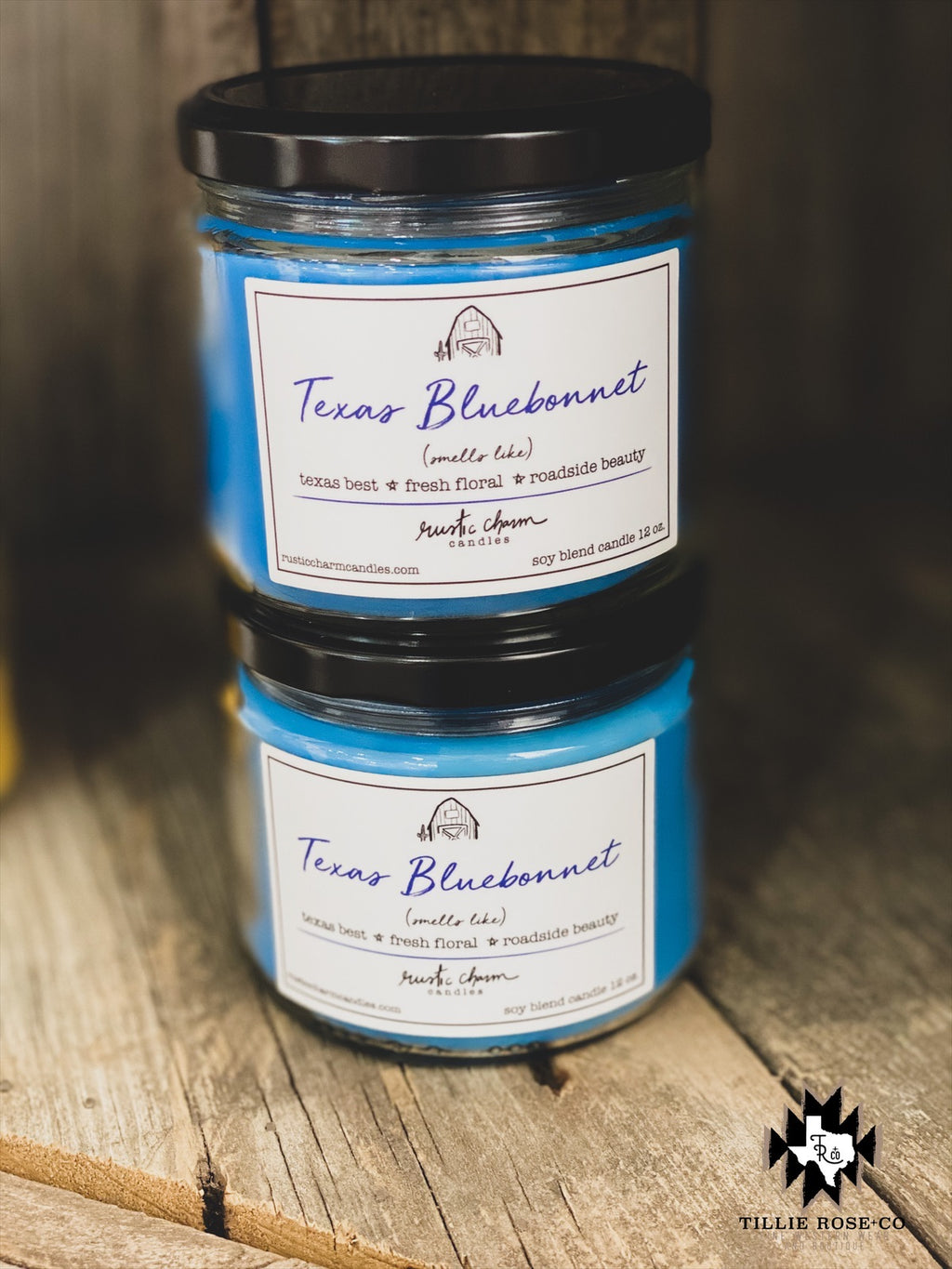 Texas Bluebonnet Candle
