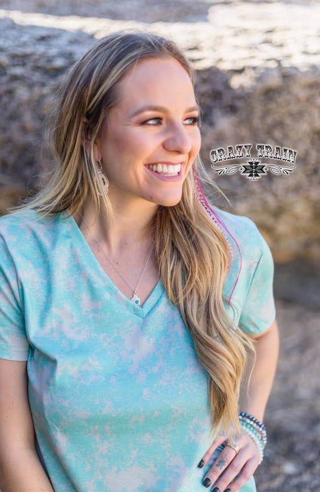 Turquoise Damsel in Distress - The Tillie Rose Boutique