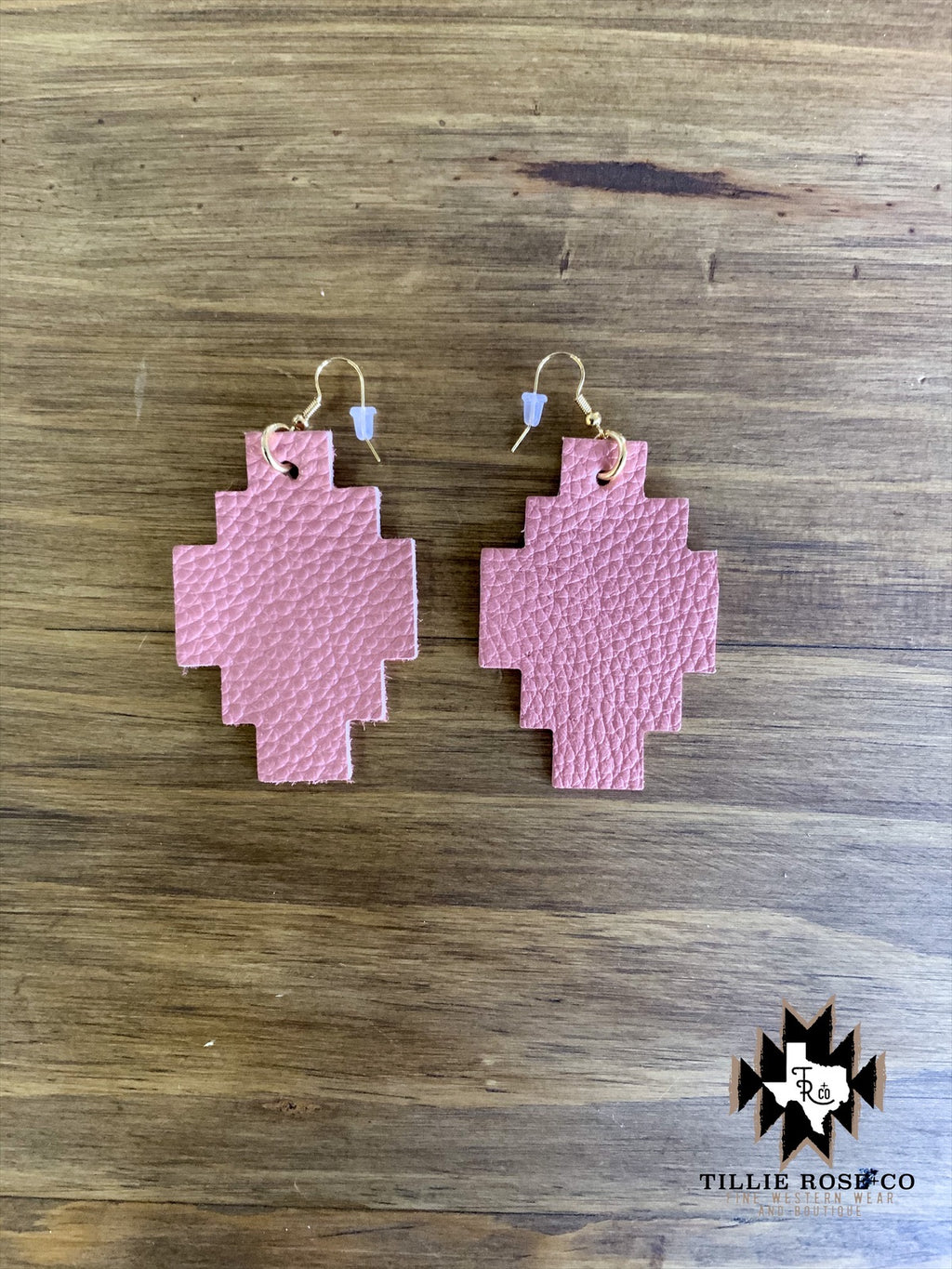 Adobe Leather Earrings - The Tillie Rose Boutique
