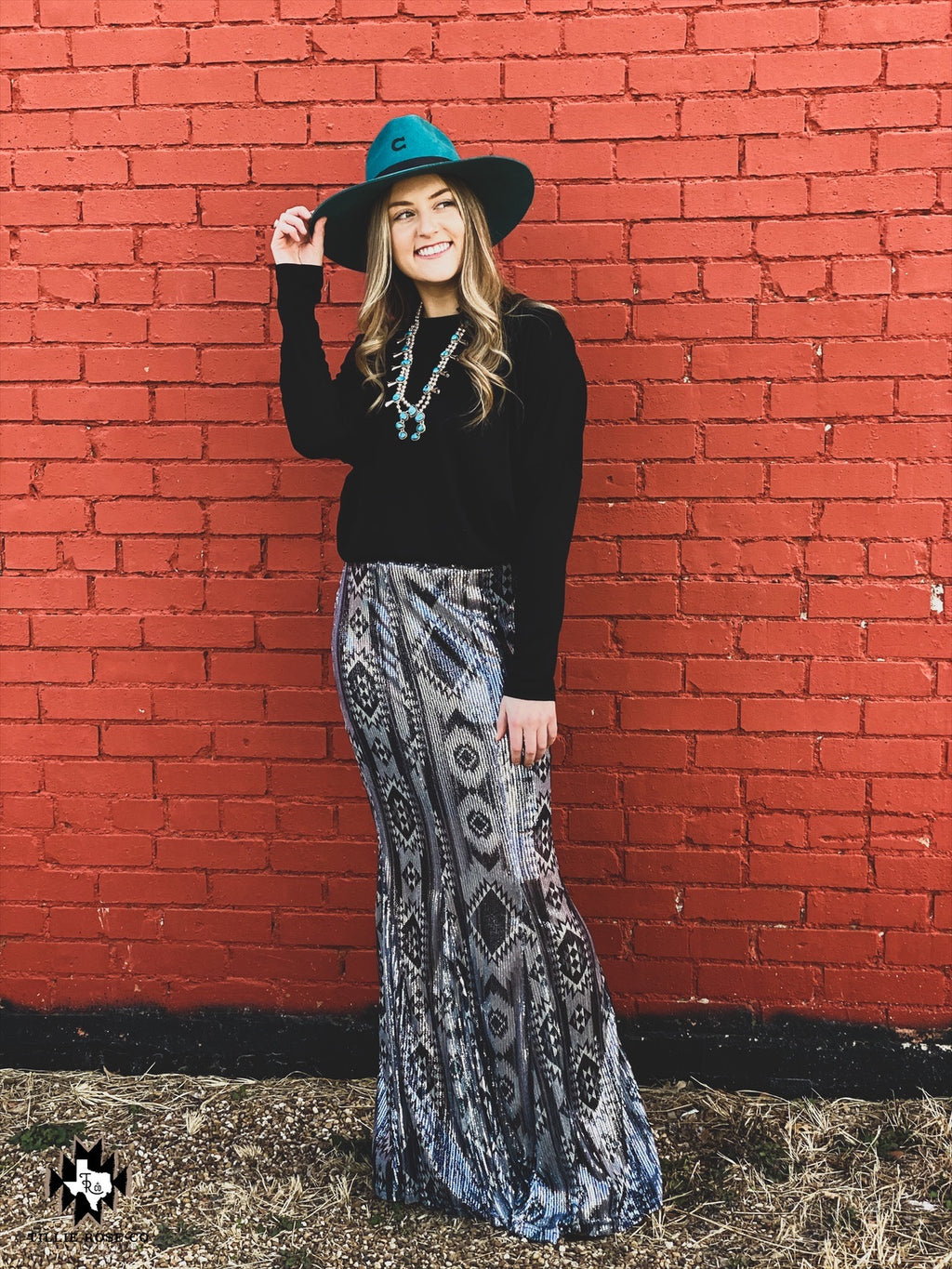 Westward Wonder Sequin Skirt