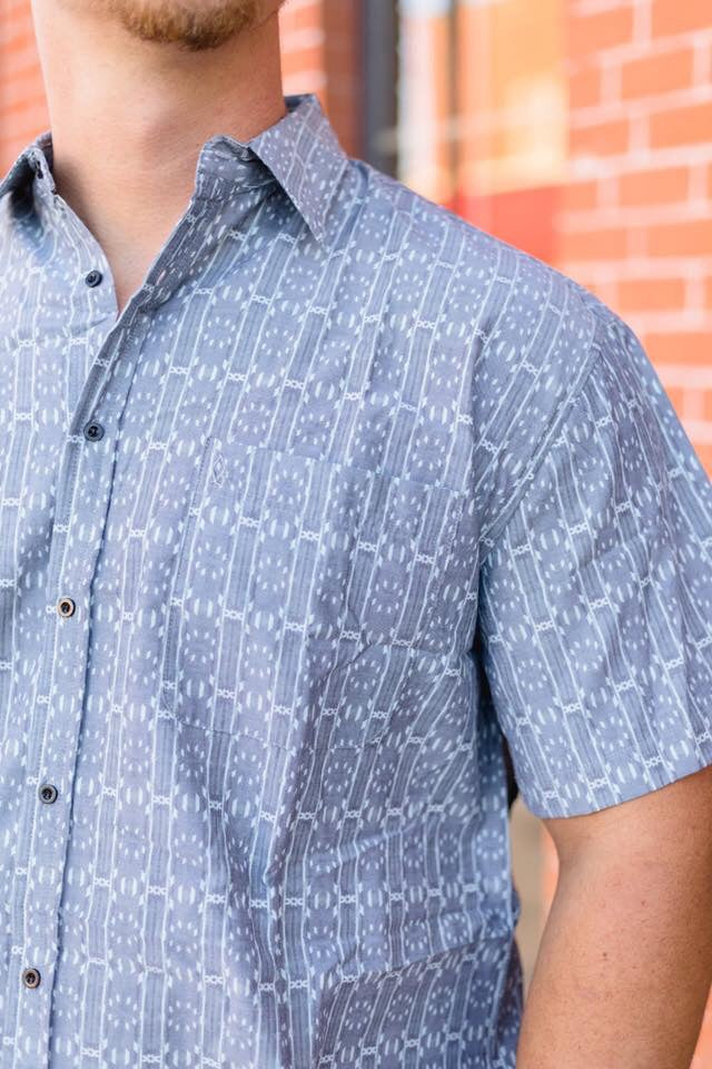 Old School Men's Button Down - The Tillie Rose Boutique