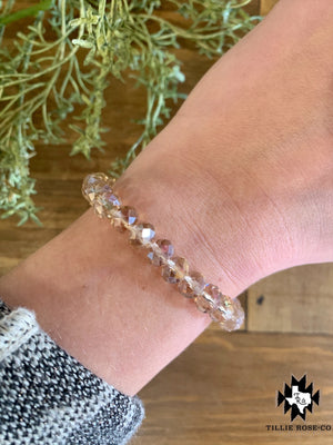 Beige Beaded Bracelet - The Tillie Rose Boutique