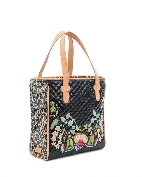 Consuela Classic Tote Ezzy Black - The Tillie Rose Boutique