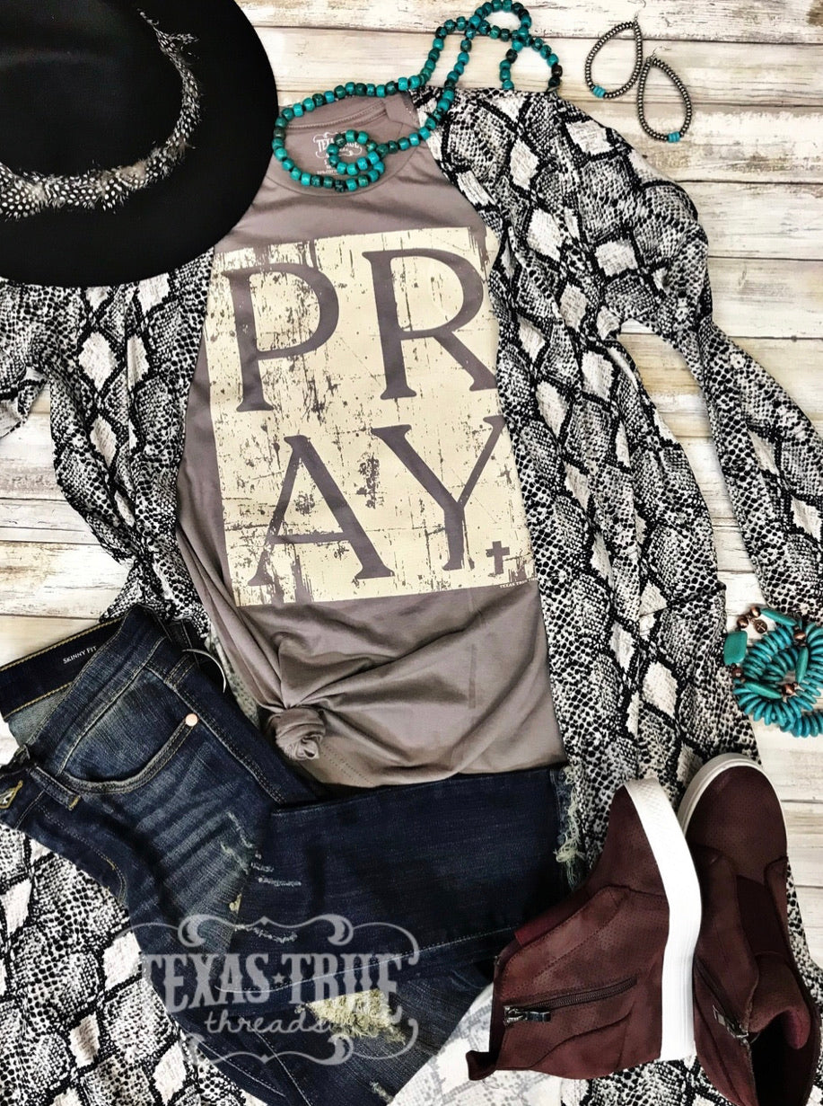 Pray Tee - The Tillie Rose Boutique