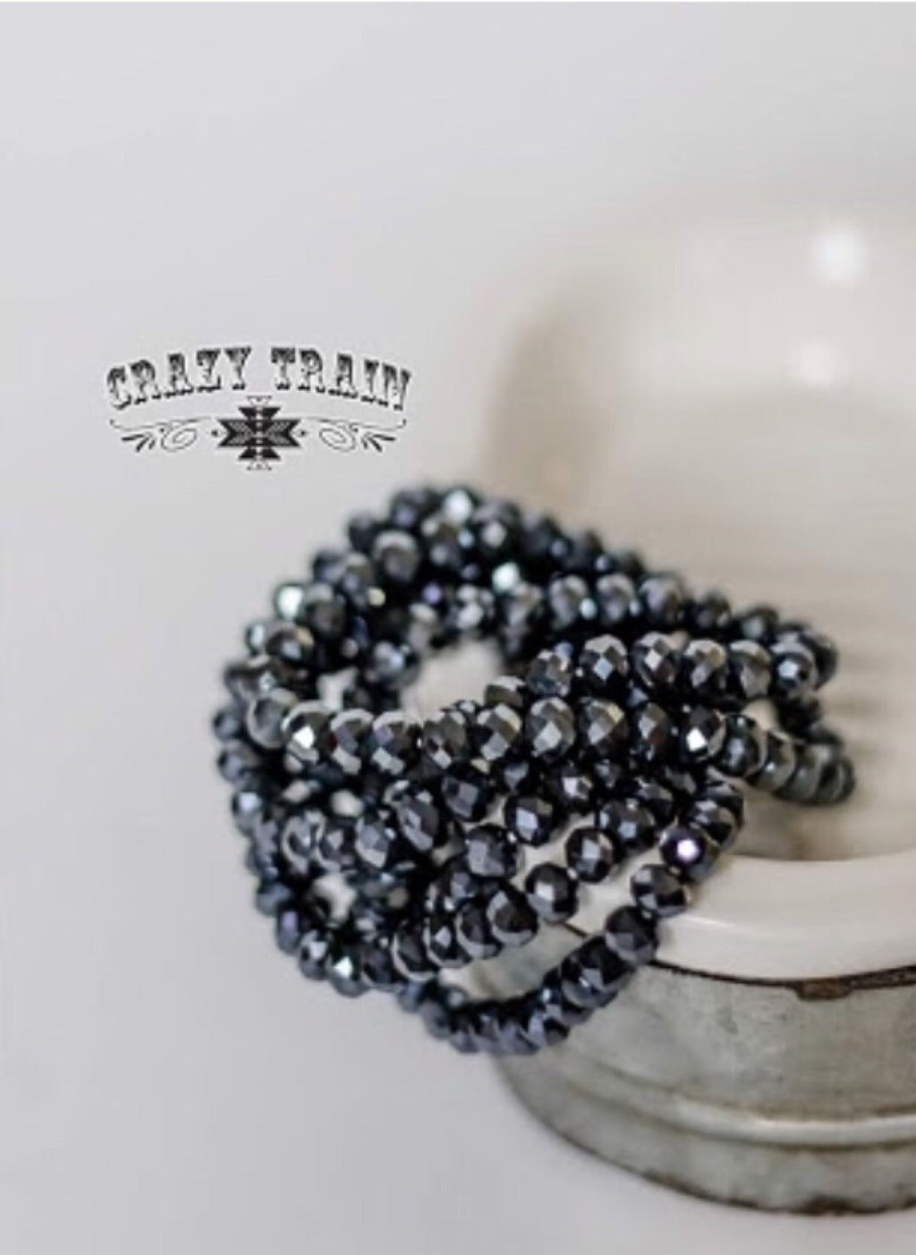 Thunder Cloud Beaded Bracelet - The Tillie Rose Boutique