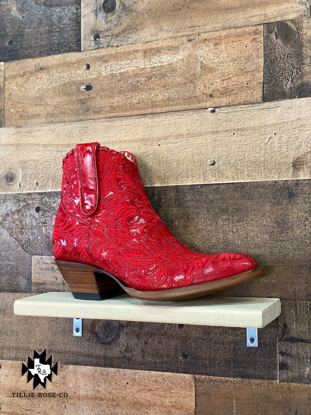 Mila Boot in Raider Red - The Tillie Rose Boutique