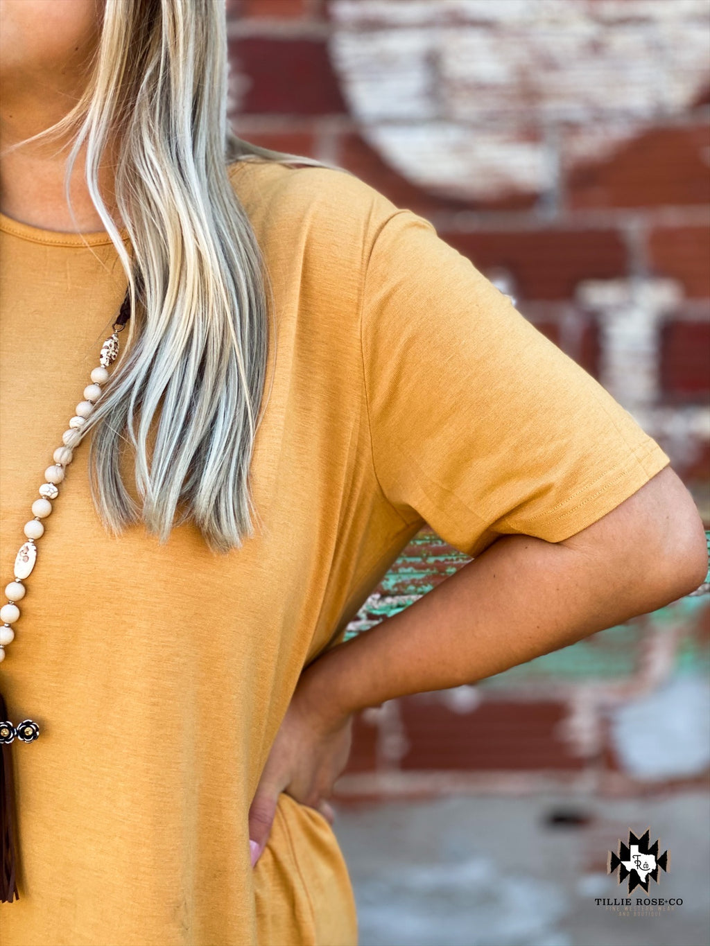 Back to Basics Mustard Top