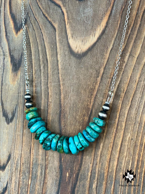 Authentic Turquoise and Navajo Necklace