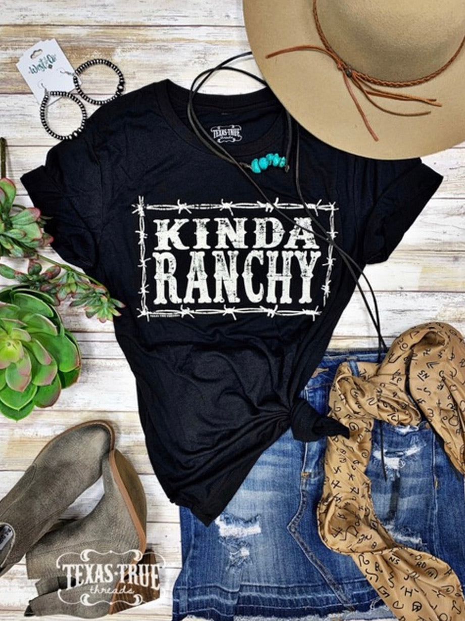 Ranchy Tee - The Tillie Rose Boutique