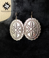 Silver Concho Earrings - The Tillie Rose Boutique