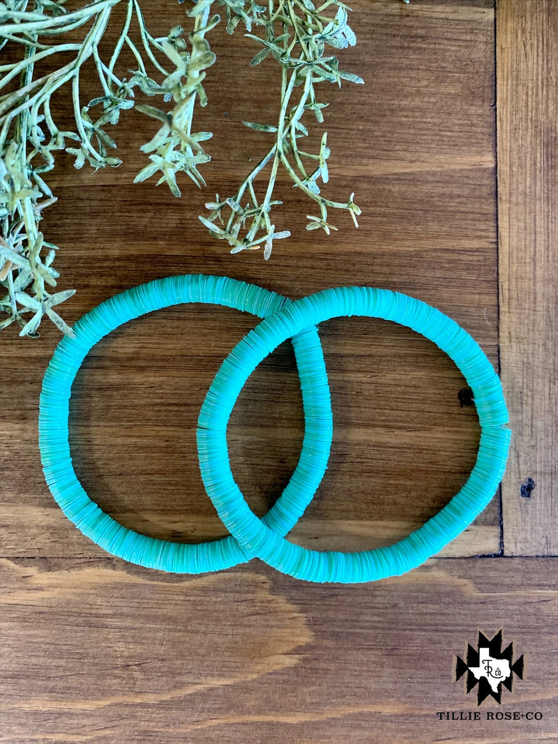 Turquoise Disk Bracelet - The Tillie Rose Boutique
