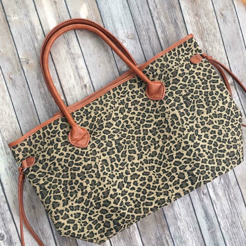 Leopard Tote - The Tillie Rose Boutique