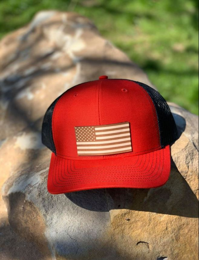 Red Independence Cap - The Tillie Rose Boutique