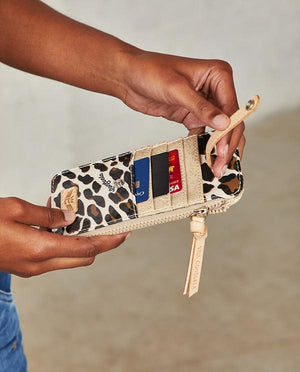 Mona Leopard Card Organizer by Consuela - The Tillie Rose Boutique