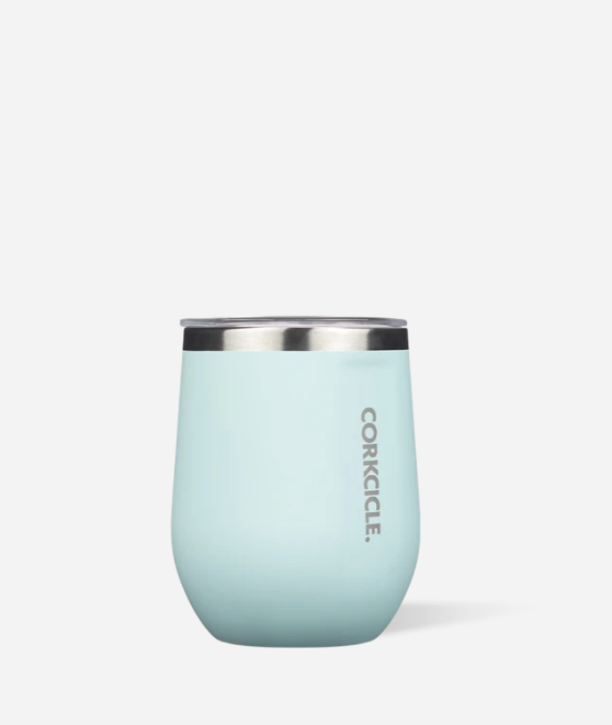 Powder Blue Stemless Wine Tumbler by Corkcicle