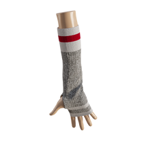 Load image into Gallery viewer, Pook Elbow Highs - Red Texting Mitts  (Adult)