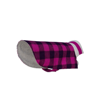 Load image into Gallery viewer, Pook Pooch Reversible - Pink Polar Fleece & Wool