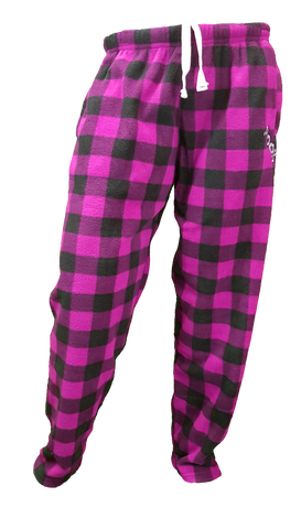 Pook Pink Plaid Pajama Pants