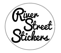 River Street Stickers