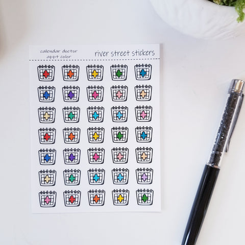 Doctor Appointment - Calendar Icons