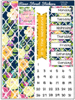 Bloom Weekly Planner Sticker Kit
