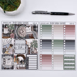 FARMHOUSE CHARM WEEKLY PLANNER STICKER KIT
