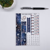 Zodiac Weekly Sticker Kit (Choose Your Sign)