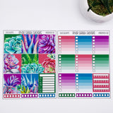 SUCCULENTS 6- PAGE HORIZONTAL WEEKLY KIT