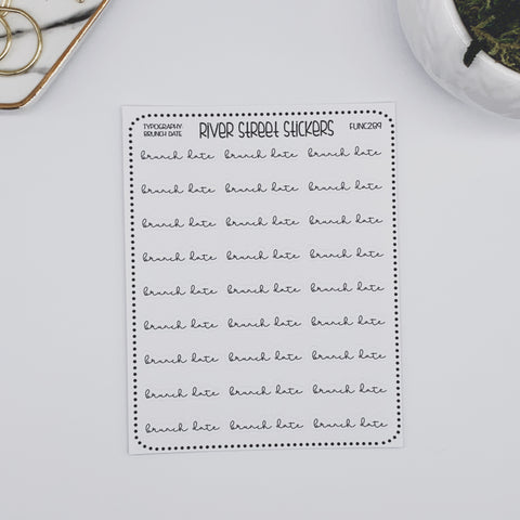 BRUNCH DATE SCRIPT HEADERS