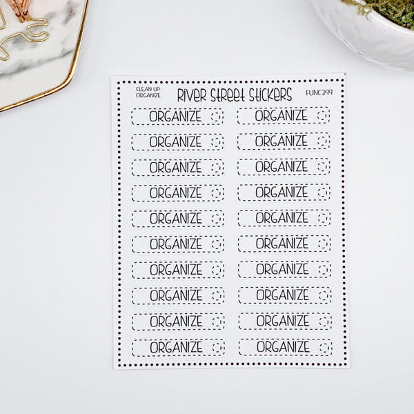 Organize Chore Check Box