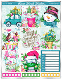 Let It Snow Horizontal Weekly Kit