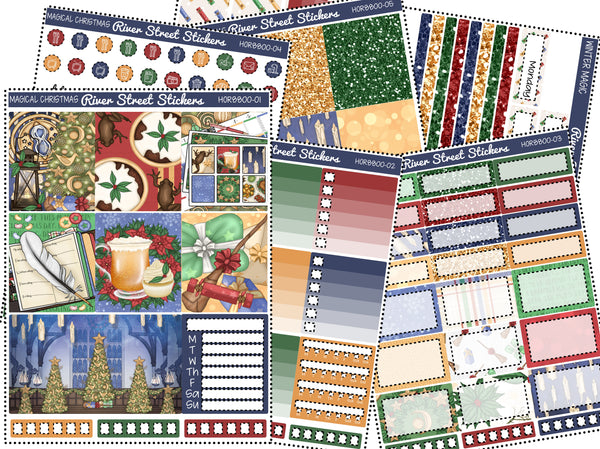 Magical Christmas Horizontal Weekly Kit