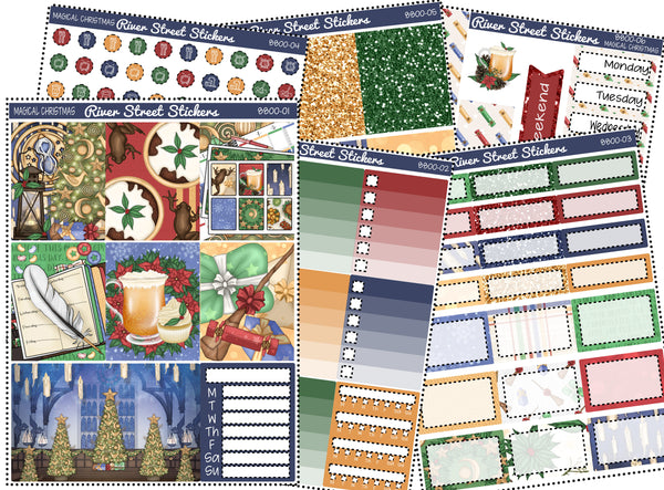 Magical Christmas Planner Sticker Kit