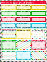 Mickeys Mates Weekly Planner Sticker Kit