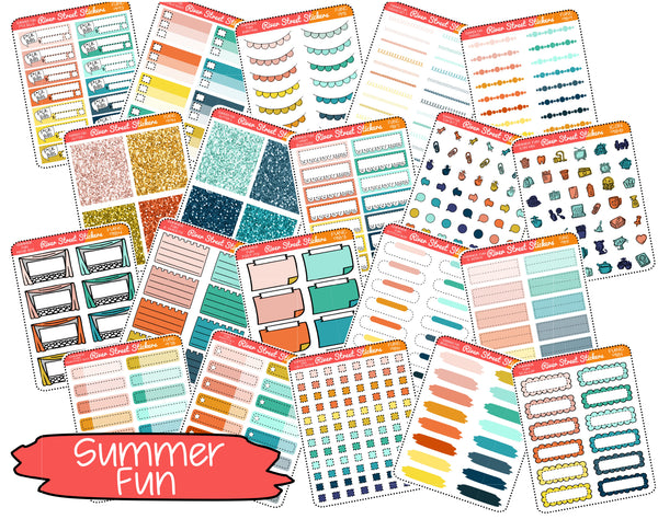 Summer Fun Color Collection