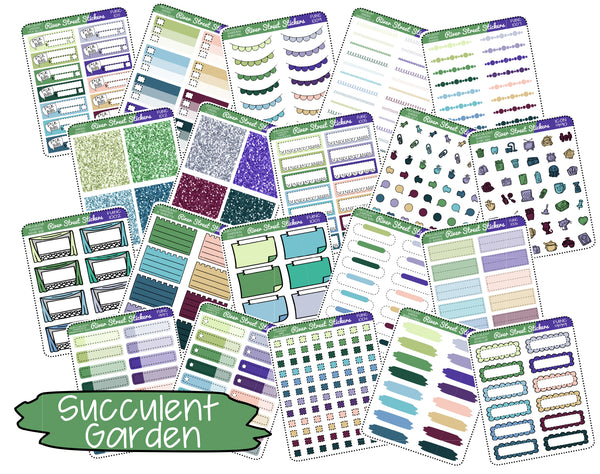 Succulent Garden Color Collection