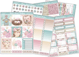 Shimmery Owls Horizontal Weekly Kit