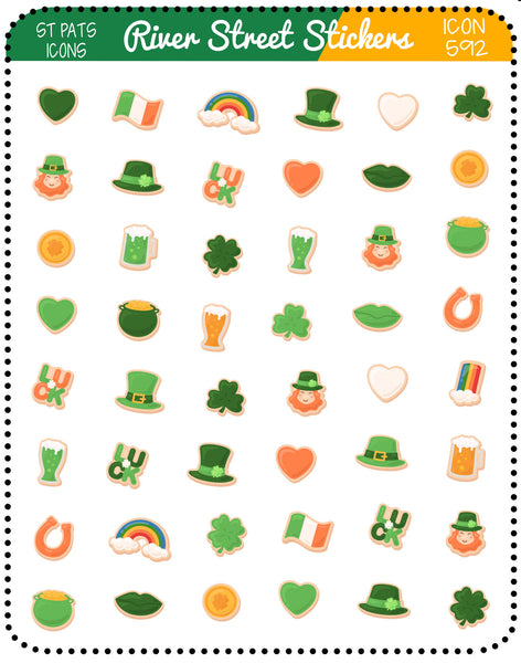 St. Patrick Day Icons