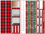 Winter Lumberjack Horizontal Weekly Kit
