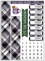 Autumn Adventure Weekly Planner Sticker Kit