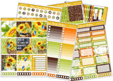 Country Sunflower Horizontal Weekly Kit