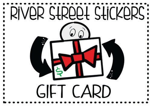River Street Stickers Gift Card