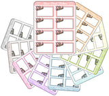 Pastel Book 1/2 Functional Boxes