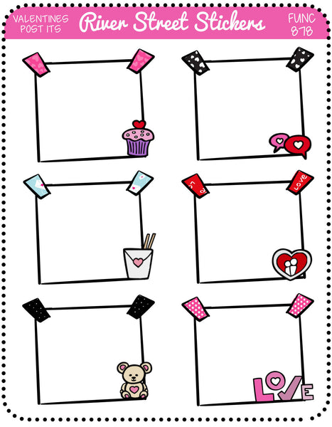 Valentines Post Its